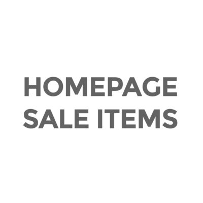 Homepage Sale Items